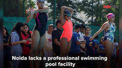 Noida - no city for professional swimmers?