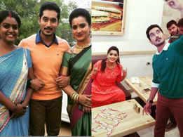 Karthika Deepam actors Nirupam Paritala and Shobha Shetty celebrate 500 episodes; see pictures