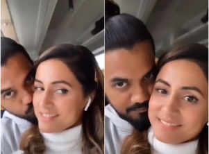 Watch: Hina-Rocky's mushy romance in Milan