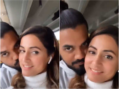 Watch: Hina-Rocky's mushy romance on their way to Milan