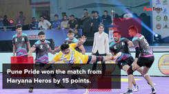 Pune Pride defeat Haryana Heros at IIPKL