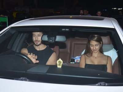Photos: Tiger and Disha go on a dinner date