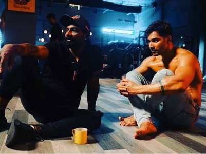 Varun broke down on the sets of his next film