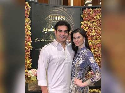 Arbaaz Khan's adorable wish for Giorgia