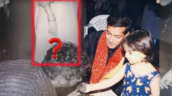 Salman Khan crops Aishwarya Rai from this throwback picture with Sharmin Segal?