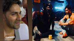 Varun Dhawan breaks down on sets of 'Street Dancer 3D'