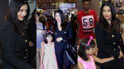 Cannes 2019: Aishwarya Rai Bachchan and daughter Aaradhya Bachchan return to India in style