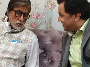 Photo: Subodh Bhave says he is elated to work with Amitabh Bachchan in 'AB Aani CD'