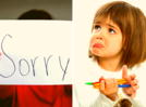 "Why should you erase unnecessary ""sorry"" from your dictionary!"
