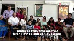 Tribute to Pulwama martyrs Nitin Rathod and Sanjay Rajput
