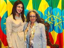 Priyanka Chopra promotes refugee education on Ethiopia visit