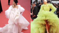 Cannes 2019: Aishwarya Rai vs Deepika Padukone's feather gown