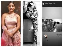 Saniya Iyappan's latest workout session will give you major fitness goals