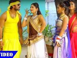 Watch: Khesari Lal Yadav and Priyanka Singh's hit Bhojpuri song 'Sonu Chhath Maayi Ke Jay Bol'