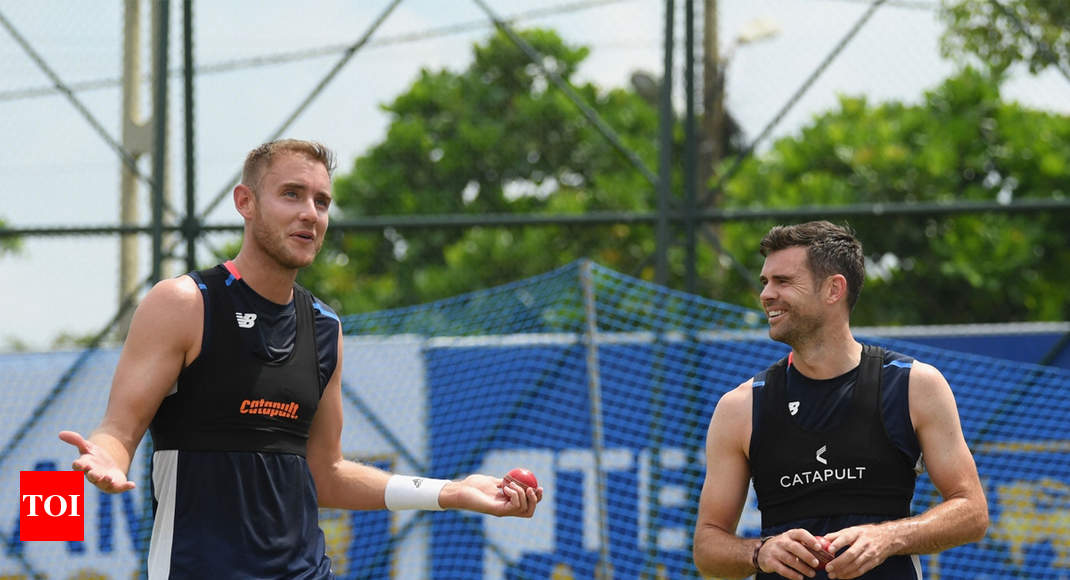At first sight I thought 'she is beautiful': Anderson about Broad in his book