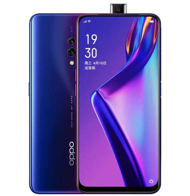Oppo K3 smartphone with 16MP pop-up camera, fast charging launched
