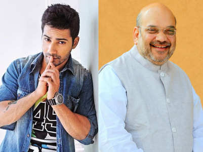 Varun shares video of Amit Shah's lookalike