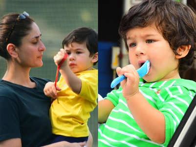 """I get paranoid about what Taimur eats"""