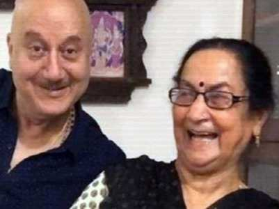 When Anupam's mother predicted PM Modi's win