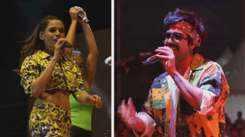 Shalmali Kholgade and Harrdy Sandhu entertain Ahmedabad