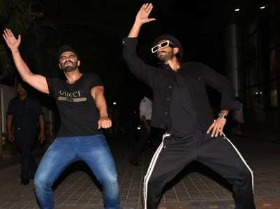 Ranveer - Arjun prove they are the craziest!