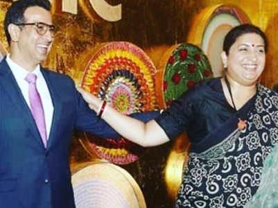 Ronit congratulates Smriti on her big win