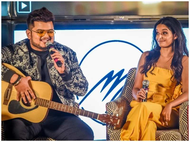 Vishal Mishra unites with singer Lisa Mishra for his first single, Sajna Ve