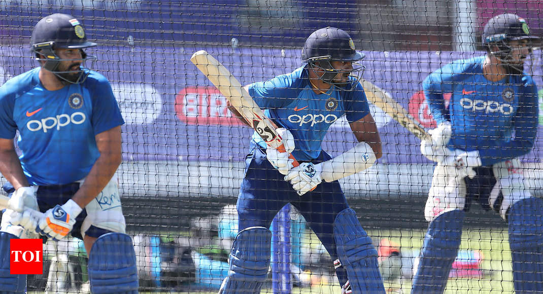 ICC World Cup 2019: Number four the focus as India face New Zealand in warm-up