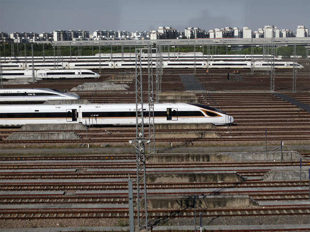 China unveils train prototype that may touch 600 kilometres per hour