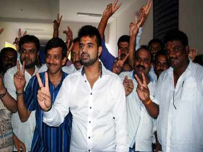 Deve Gowda's grandson says he is willing to give up Hassan