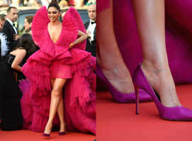 Deepika Padukone swears by this heels HACK!