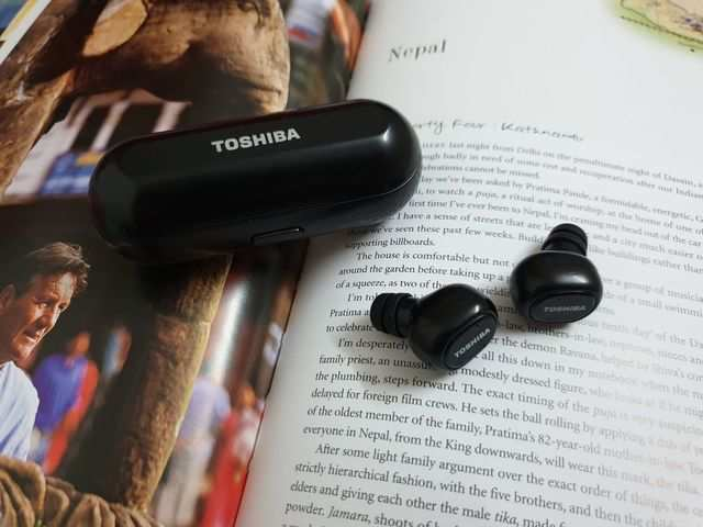 e0a762bd5ea Toshiba RZE-BT800E true wireless earbuds review: Vanilla with a dash of  chocolate
