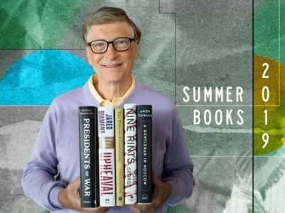 Bill Gates shares his summer reading list