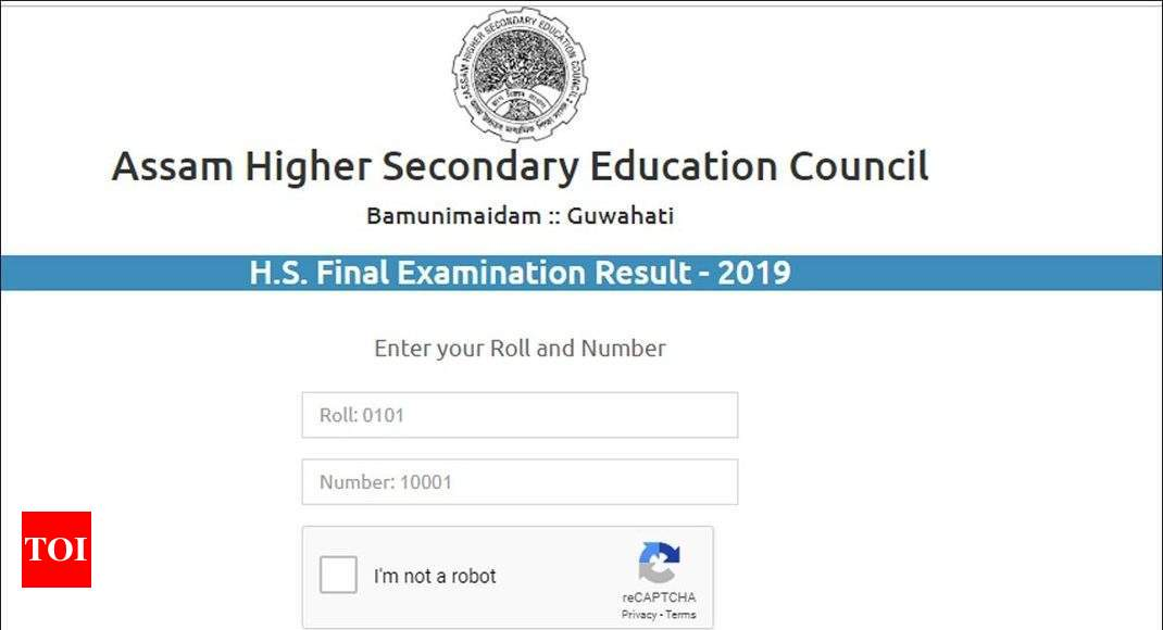 Assam Board class 12th results released @ahsec.nic.in; check here