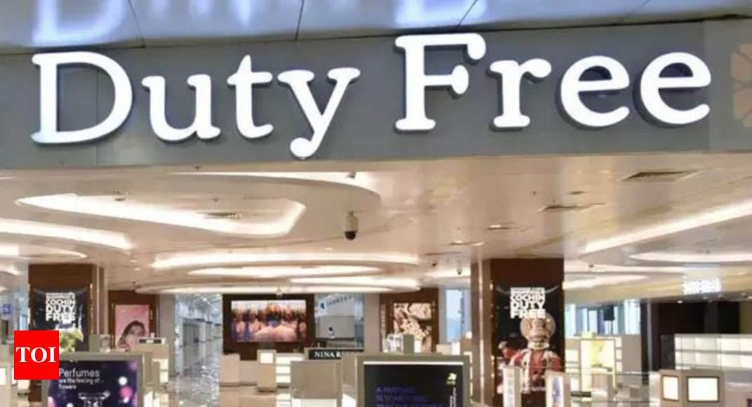 No GST at duty-free shops: HC