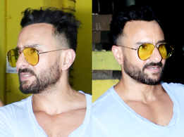 Saif Ali Khan just got a NEW haircut and it makes him look 10 years YOUNGER!