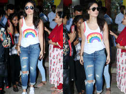Can you guess the price of Kareena's rainbow top?