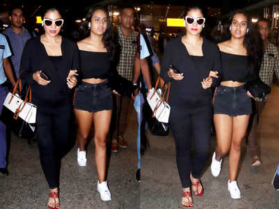 Kajol and Nysa set mommy-daughter style goals
