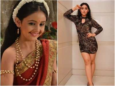 Ashnoor Kaur sizzles in a shimmery outfit