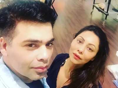 Gauri's delightful b'day message for Karan