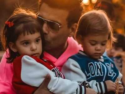 Here's what Karan has to say about his kids