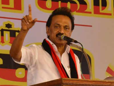 Won't let BJP set foot in Tamil Nadu: DMK president Stalin | India