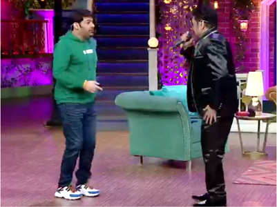 TKSS: Kapil dances to Kumar Sanu's tunes