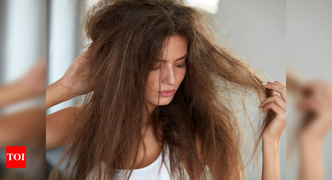 Home Remedies For Frizzy Hair Foods Hacks To Fix Your Frizzy Hair Problems In Summers Times Of India
