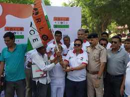 Mock run of World Peace Rally held from Ahmedabad to Udaipur