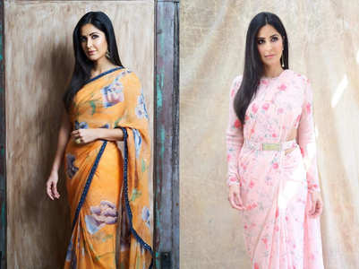 5 saris that prove Katrina Kaif is the sari queen of Bollywood