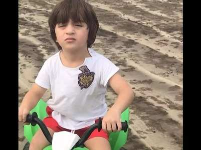 Adorable pics of AbRam you shouldn't miss