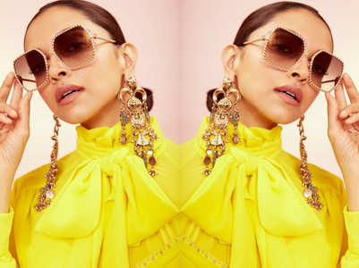 Deepika Padukone's bright yellow dress will make your day!