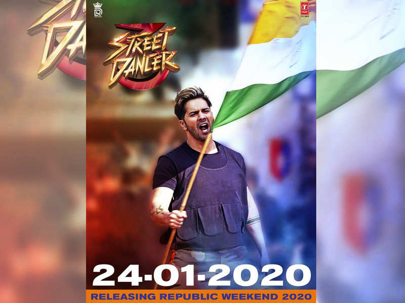 'Street Dancer 3D' first look poster: The Varun Dhawan and Shraddha Kapoor starrer to release on January 24, 2020