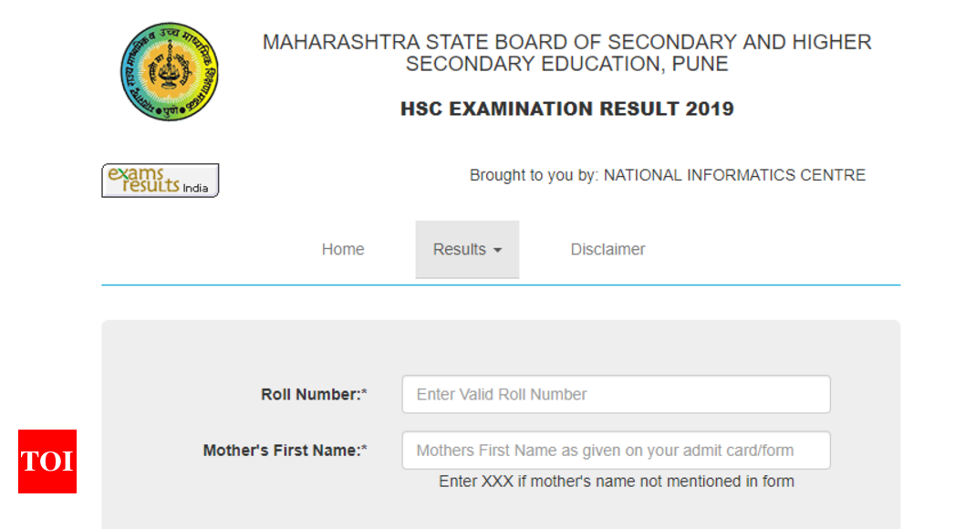 Maharashtra Board releases HSC result 2019 at mahresult nic